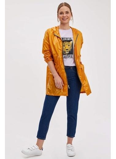 DeFacto Yağmurluk Sarı